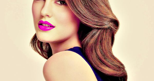 Leighton Meester. bright lip