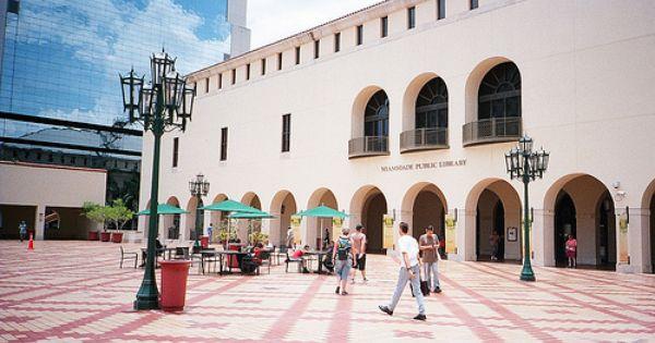 Miami Dade Public Library Main Library In Downtown Miami Florida Ferry Building San Francisco Miami Main Library