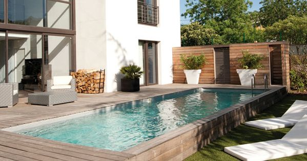 Am nagement piscine desjoyaux la piscine pinterest for Decoration piscine exterieure