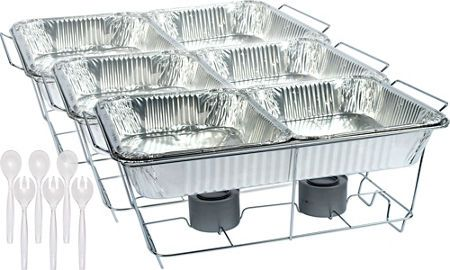 Chafing Dishes Aluminum Pans Amp Chafing Fuel Party City Wedding Buffet Food Buffet Food Buffet Set