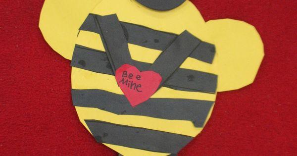 Bee Mine - Valentine craft