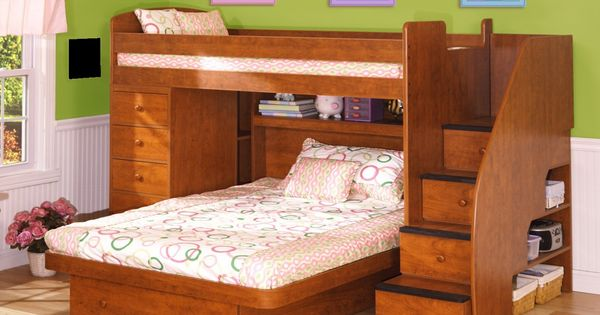 Furniture L Shaped Loft Beds Level Small Space Bed Children Beds Italian Beds Space Saving Beds