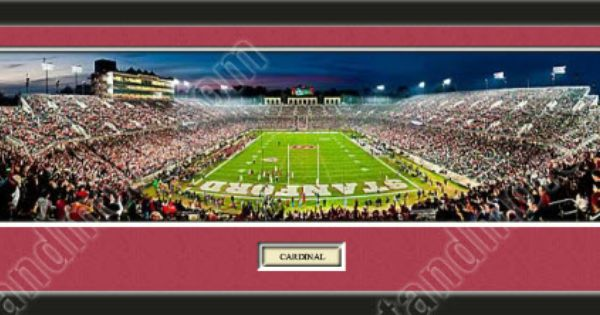 One Framed Large Stanford University Stadium Panoramic With A Customizable Nameplate Double M With Images Panoramic Photo Prints Panoramic Photo Framing Panoramic Photos