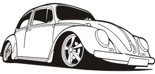 50 Desenhos De Carros Para Colorirpintar Carros Para