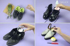Cómo Eliminar El Mal Olor De Los Zapatos En 4 Pasos Mal Olor Zapatos Eliminar Olor De Pies Limpiar Zapatos De Ante