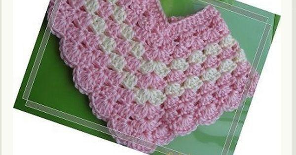 Crochet Baby Poncho Pattern BABY CROCHETED PATTERN ...