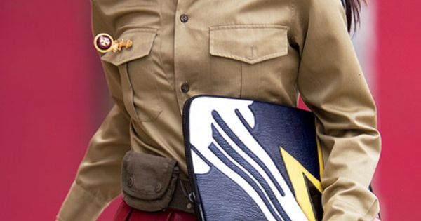 Trend alert! Amp up your winter wardrobe with polished, military-inspired looks.