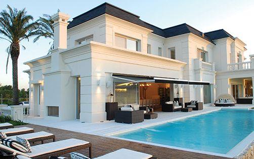Apa arquitectura casa estilo cl sico franc s - Casas estilo frances ...