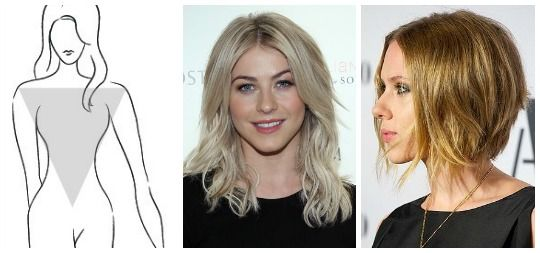 Discover The Right Hairstyle For Your Inverted Triangle Body Type Inverted Triangle Body Hair Styles Hairstyle