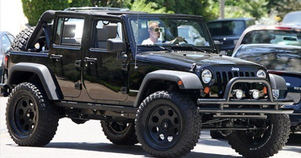David Beckham's JEEP Wrangler Unlimited! I don't know what I want more....Beckham