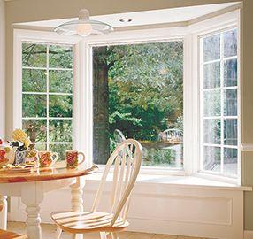 Bay Or Bow Windows From Pella Pella Window Prices Bow Window Kitchen Bay Window