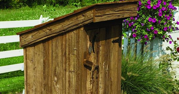 Amish Yard Outhouse Well Cover To 79 00 Http Www