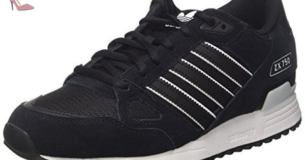 adidas Zx 750, Chaussures de Gymnastique Homme, Noir (Core