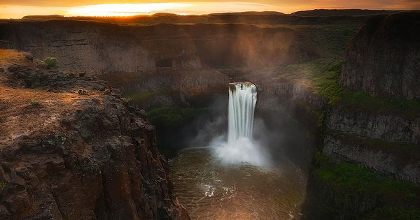 """Palouse Falls"" Washington State by Paul James Beautiful places in North America"