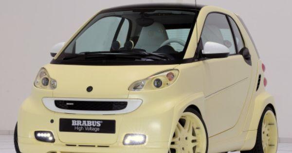 Brabus Ultimate High Voltage Concept 2009 Smart Fortwo Benz Smart Smart Car