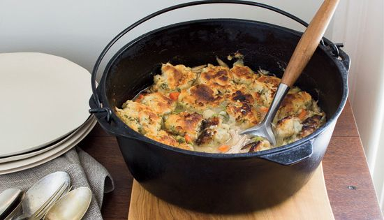 One-Pot Meals | Chicken And Biscuits, Biscuits and Pots
