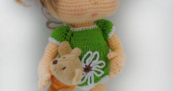 Puppe hakeln // Babypuppe hakeln Anleitung Puppen und ...