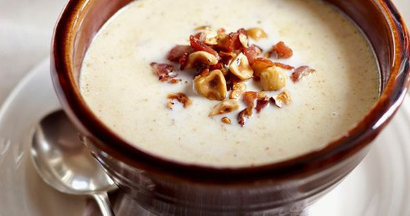 Roasted Cauliflower and Blue Cheese Soup, something I've been wanting ...