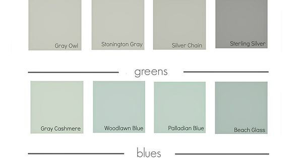 Benjamin Moore 2016 Best Selling Paint Colors Pottery