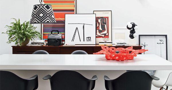 Casa com decora o vibrante e pe as herdadas da fam lia for Table vibrante