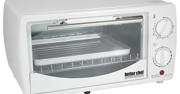 Better Chef 4 Slice Toaster Oven White Toaster Oven Small Toaster Oven Toaster