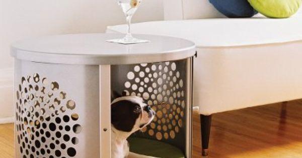 The DenHaus BowHaus Silver Pet Crate Is A Modern Triumph