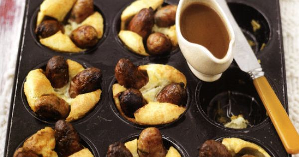 Toad-in-the-hole uit Baking made easy, Lorraine Pascale. | Recepten ...