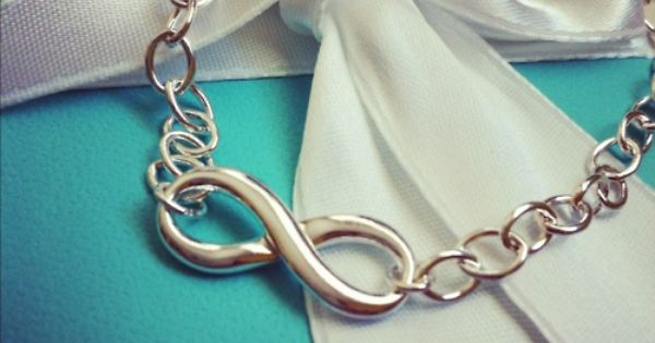 Tiffany Infinity Bracelet - love love this birthday present!!
