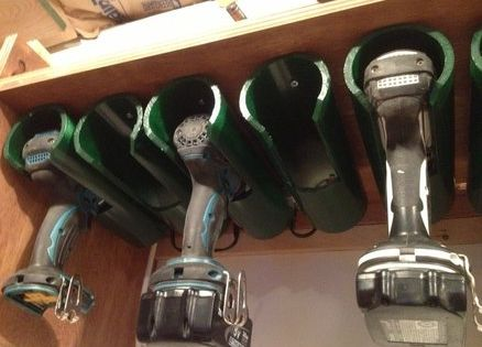 Drill Charging/Storage Station use pvc