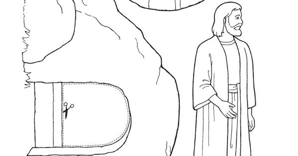 primary easter coloring pages - photo#7