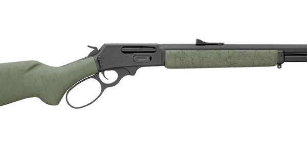 45 70 Govt 6 Shot Full Length Tubular Magazine Lever Action With Wild West Guns Style Big Loop Finger Lever Side Ejection Solid Top Receiver Stainles Chasse