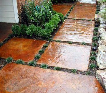 Stepping Stones Backyard Patio Outdoor Decor