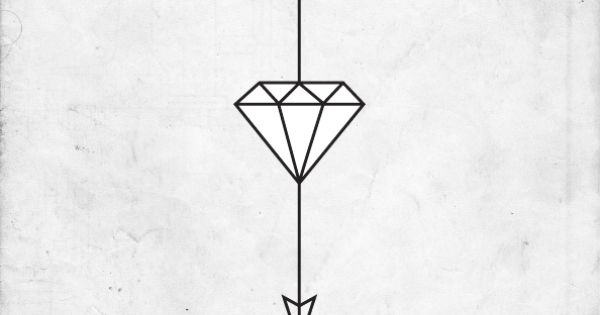 arrow tattoo, idea for another symbol than the diamond