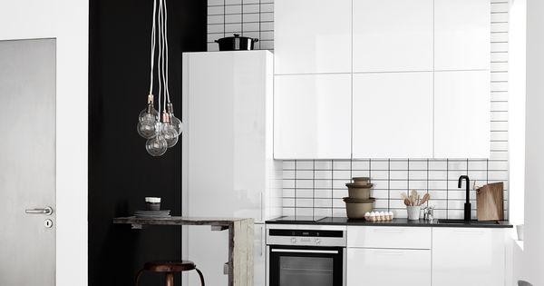 Reforma cocina peque a y abierta muebles lacados blancos - Reforma cocina pequena ...