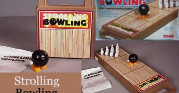 Who Remembers The Strolling Bowling Game I Loved This Game How Can You Go Wrong With A Wind Up Walking Bowling Heart For Kids Old Toys Childhood Memories