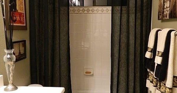 Curtain ideas shower curtains bathroom pinterest curtain ideas