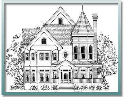 Authentic historical designs llc house plan olympia for Authentic historical house plans