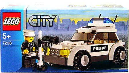 Lego City Police Car 7236 New Unopened Nib 59 Pieces Lego City Police Police Cars Lego City