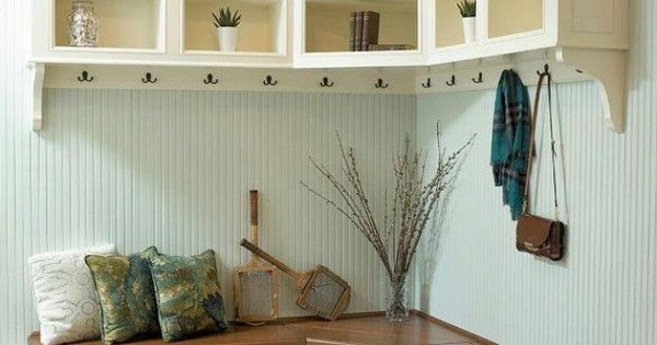 Mudroom Love The Corner Bench Storage Pinterest Corner Bench Mudroom And Bench