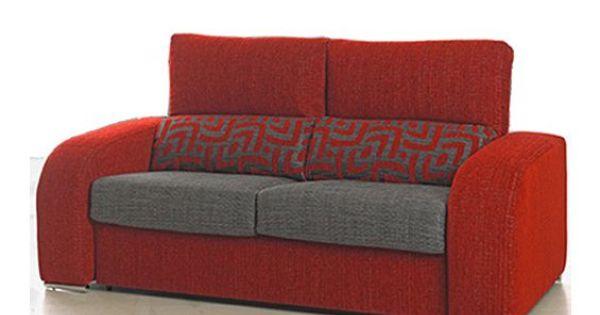 Sofu00e1 cama de tres plazas con sistema de apertura italiano. Tapizado ...