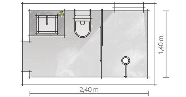 Projetos banheiros pequenos medidas pesquisa google for Medidas bano pequeno