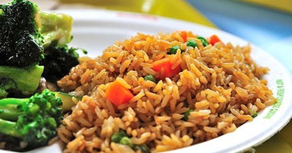 أرز صيني مع الخضار Recipe Vegetarian Recipes Big Meals Cooking Recipes