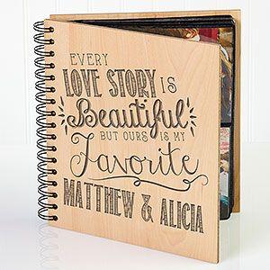 Love Quotes Personalized Photo Album Wedding Photo Albums Love Quotes For Wedding Sentimental Gifts