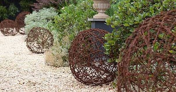 Barbed wire? Imagine how great these look after they've rusted and gained