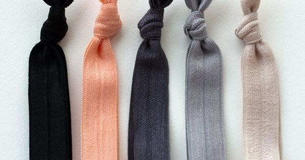 The Silk Package | Elastic Hair Ties that Double as Bracelets by