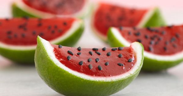 Petite Watermelons | Recipe | Jello, Watermelon and Limes
