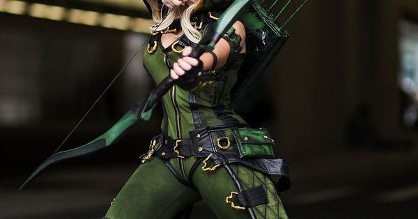 Green Arrow   Arrow cosplay, Green arrow cosplay, Dc cosplay
