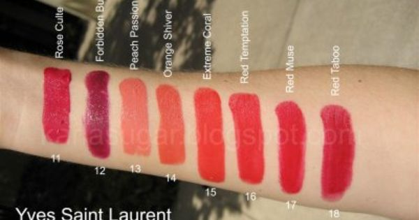 New Mac Lipstick Shades