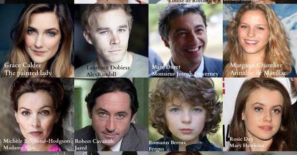 new cast for season 2 diana gabaldon pinterest