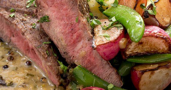 Seared Steaks & Mashed Potatoes with Sautéed Radishes ...